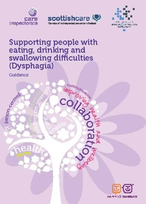 Supporting people with eating, drinking and swallowing difficulties (Dysphagia) image