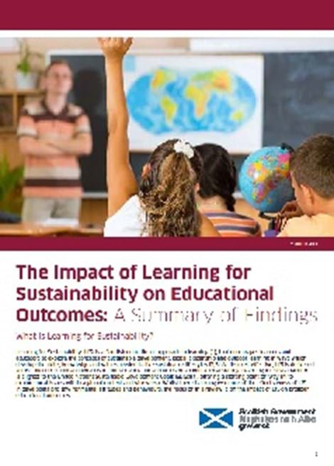 The Impact of Learning for Sustainability on Educational Outcomes - A Summary of Findings image
