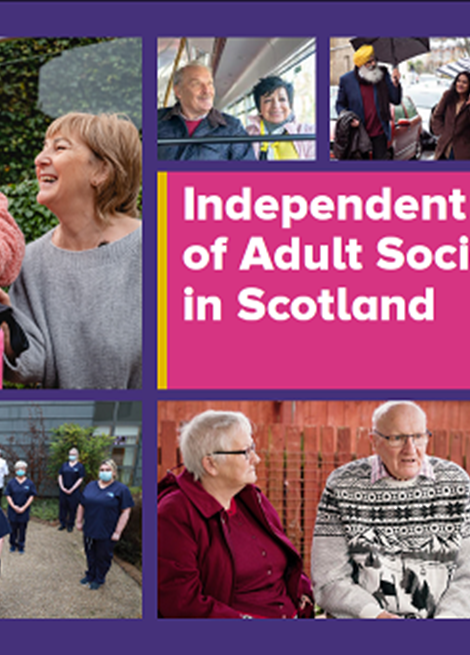 Independent Review of Adult Social Care in Scotland image